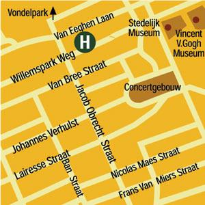 Plano de acceso de Hotel Atlas