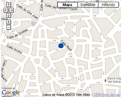 Plano de acceso de Hotel Alvar Fañez