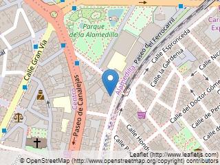 Plano de acceso de Hotel Castellano Iii