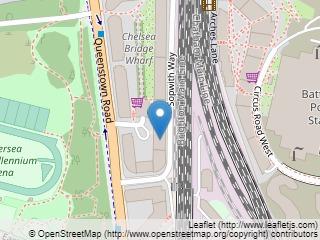 Plano de acceso de Hotel Pestana Chelsea Bridge