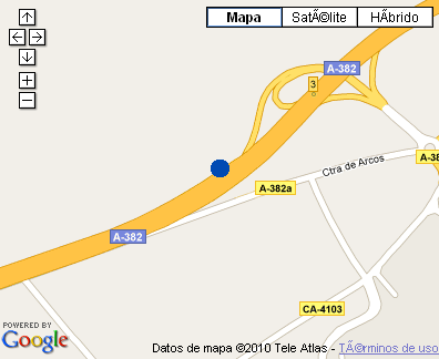 Plano de acceso de Hotel Barcelo Jerez Montecastillo And Convention Center