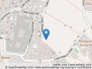 Plano de acceso de Hotel Fontecruz Sevilla