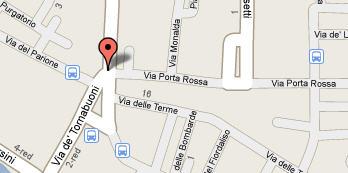 Plano de acceso de Hotel Tornabuoni Beacci
