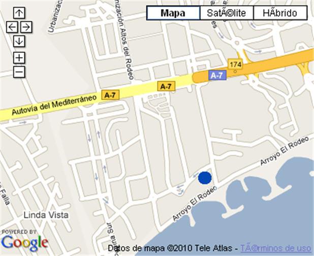 Plano de acceso de Hotel G H Guadalpin Banus