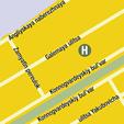 Plano de acceso de Nevsky Breeze Hotel