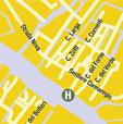 Plano de acceso de Hotel Ca' Sagredo