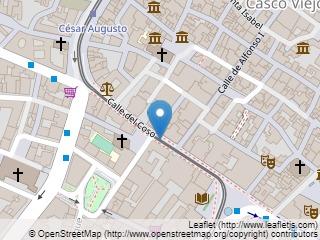 Plano de acceso de Hotel Alfonso