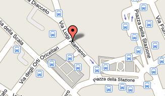 Plano de acceso de Hotel Diplomat
