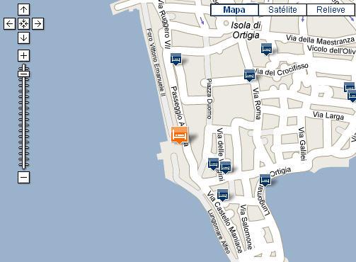 Plano de acceso de Des Etrangers Hotel And Spa