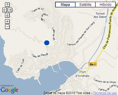 Plano de acceso de Hotel Mon Port