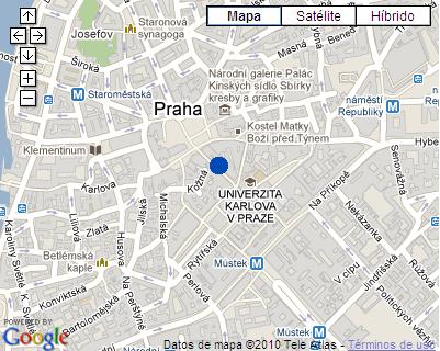 Plano de acceso de Prague Leon D'oro Hotel
