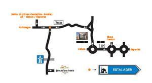 Plano de acceso de Hotel Estalagem Quinta  San Antonio