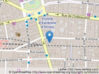Plano de acceso de Hotel Hélios Opera