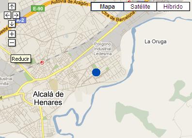Plano de acceso de Hotel Hostal El Val