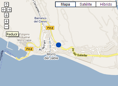 Plano de acceso de Hotel Barcelo Jandia Mar