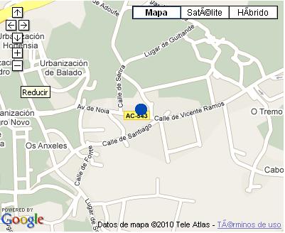 Plano de acceso de Hotel Gastronómico Casa Rosalia