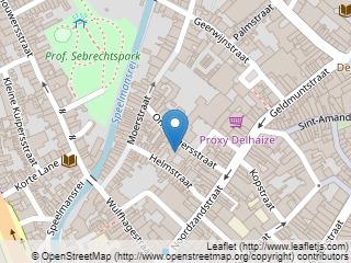 Plano de acceso de Hotel Prinsenhof