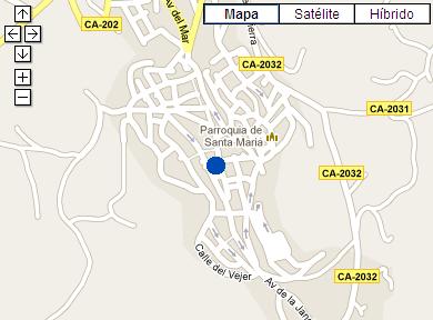 Plano de acceso de Hotel Medina Sidonia