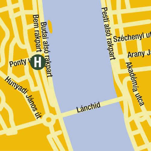 Plano de acceso de Hotel Victoria