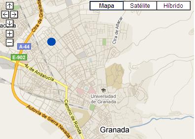 Plano de acceso de Hotel Ac Granada