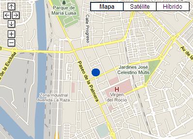 Plano de acceso de Hotel Ac Ciudad De Sevilla
