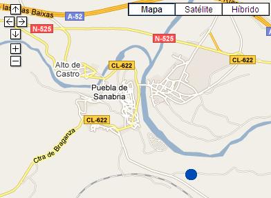 Plano de acceso de Hotel Posada Real La  Pascasia