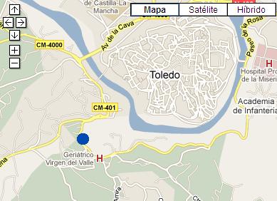 Plano de acceso de Hotel Ac Ciudad De Toledo
