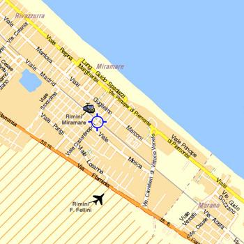 Plano de acceso de Hotel Mutacita