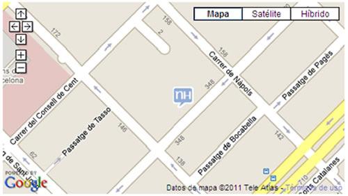 Plano de acceso de Hotel Hesperia Carlit