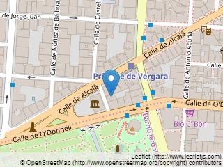 Plano de acceso de Hotel Nh Alcalá