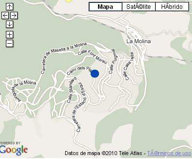 Plano de acceso de Solineu Sport Hotel