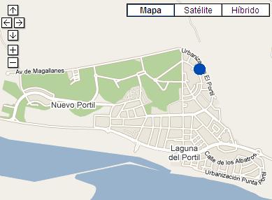 Plano de acceso de Hotel Ac Nuevo Portil Golf