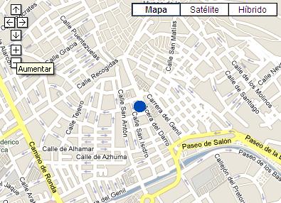 Plano de acceso de Hotel Casa Salvador