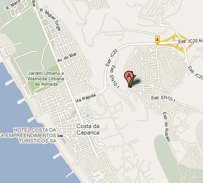 Plano de acceso de Hotel Melia Aldeia Dos Capuchos