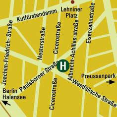 Plano de acceso de Hotel Agon Lichtburg