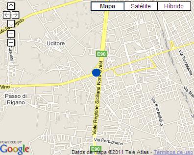 Plano de acceso de Idea Hotel Palermo