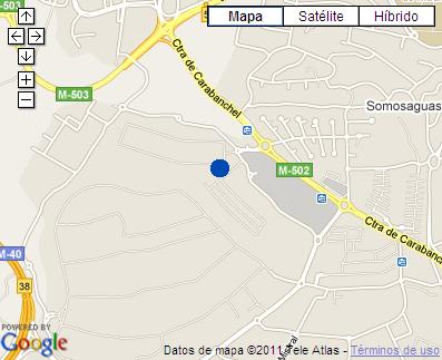 Plano de acceso de Hotel Ac La Finca