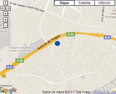 Plano de acceso de Hotel Ac Alcala