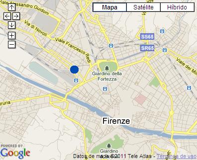 Plano de acceso de Hotel Ac Firenze