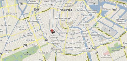 Plano de acceso de Hotel Dikker En Thijs