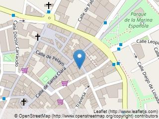 Plano de acceso de Hotel Dos Infantas