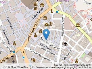 Plano de acceso de Hotel Hesperia Granada