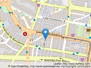 Plano de acceso de Hotel Andalucia Center