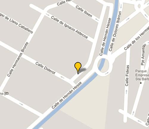 Plano de acceso de Hotel Malaga Nostrum
