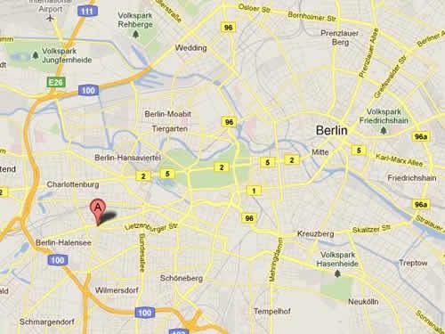 Plano de acceso de Hotel Come Inn Berlin Kurfürstendamm Opera