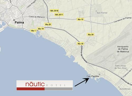 Plano de acceso de Hotel Nautic