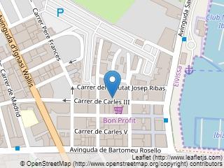 Plano de acceso de Hotel El Puerto