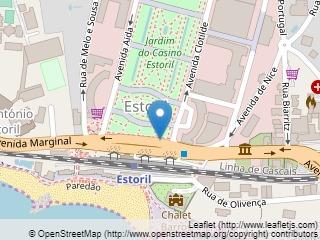 Plano de acceso de Hotel Vila Gale Estoril