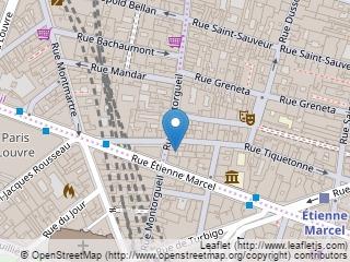 Plano de acceso de Hotel Victoires Opera