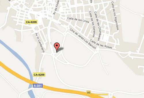 Plano de acceso de Hotel Montera Plaza